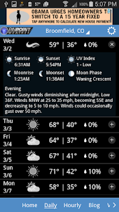 Fox31 - CW2 Pinpoint Weather- screenshot thumbnail