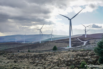 Photo: Turbines at Mid Hill Wind Farm, Fetteresso Forest
