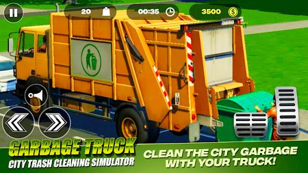 Garbage Truck - City Trash Cleaning Simulator 3.0 screenshot 2093523