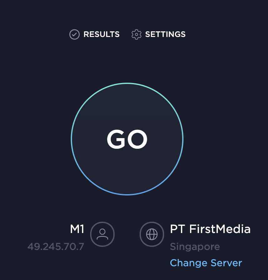 Speedtest GO