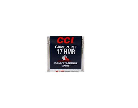 CCI 17 HMR gamepoint 20gr