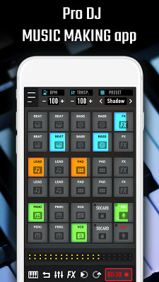 MixPads - Drum pad & dj mixer - screenshot