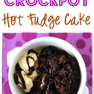 Crockpot Hot Fudge Cake Recipe!
