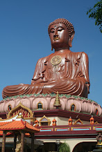 Photo: Sitting Buddha at Wat Machimmaran, Kelantan
