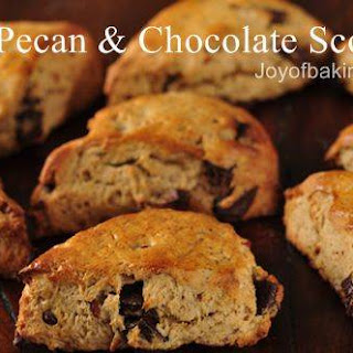 Pecan and Chocolate Scones Tested