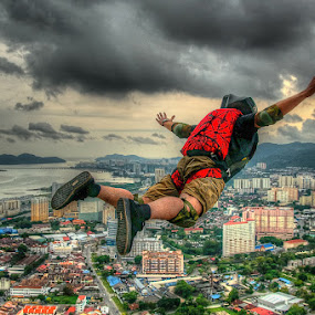 ....I'm flying by Keris Tuah - Sports & Fitness Other Sports