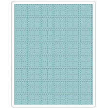 Tim Holtz Sizzix Texture Fades Embossing Folders - Stitched Plaid
