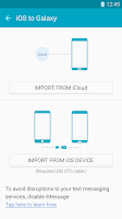 Screenshot of Samsung Smart Switch Mobile