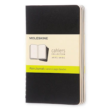 Cahier Journal Pocket Black