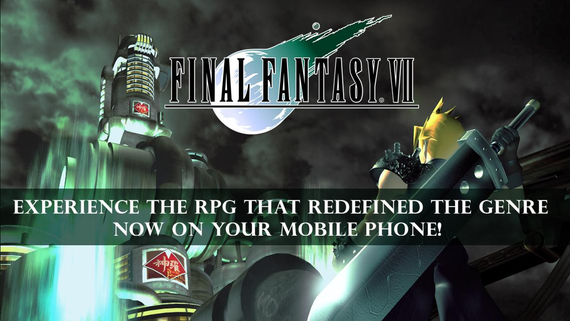FINAL FANTASY VII: captura de pantalla