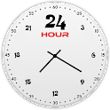 24 Hour Clock Widget icon