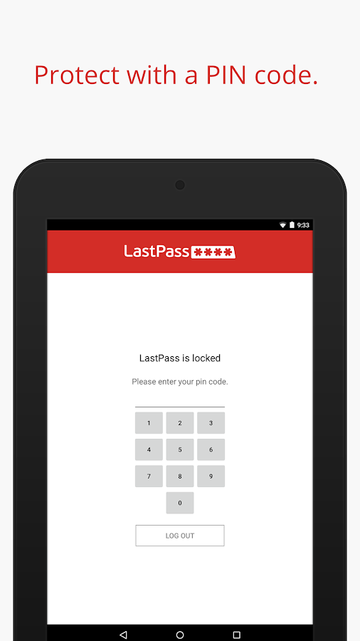 LastPass Password Manager - screenshot