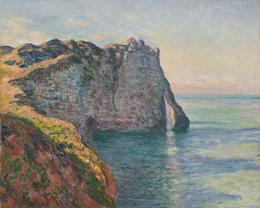 The Cliff and the Porte d'Aval
