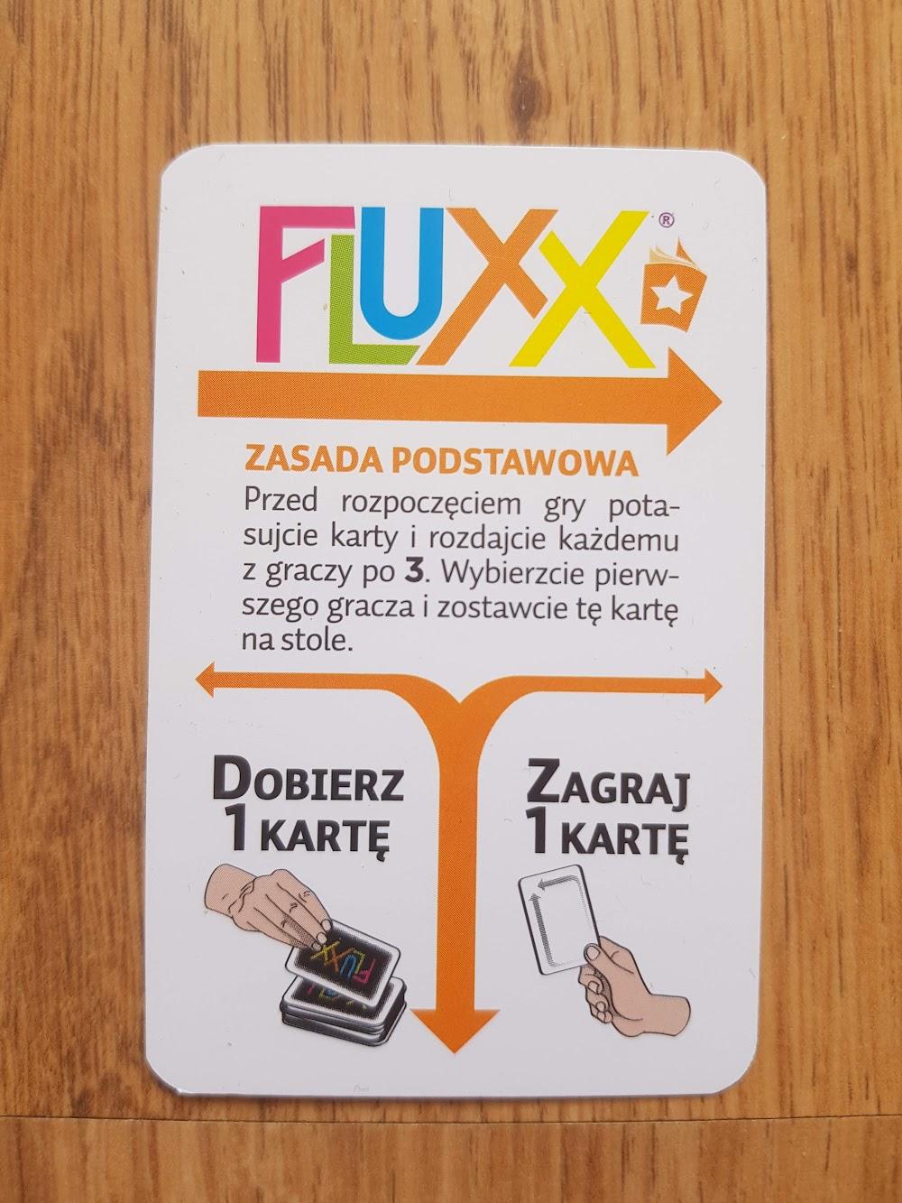 Fluxx - zasada początkowa