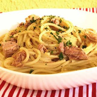 Tuna Spaghetti.