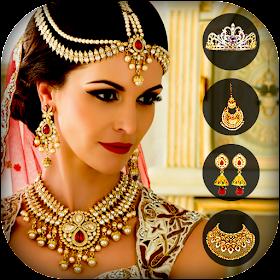Jewellery Photo Editor for Girls: Indian jewellery