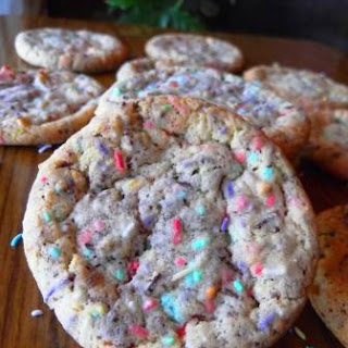 Sprinkle Cake Mix Cookies
