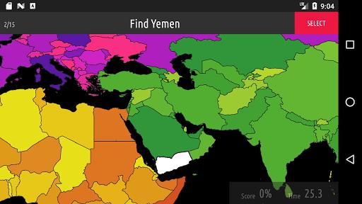 Blank Map Quiz screenshots 1
