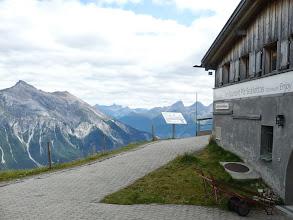 Photo: Mit der Gondelbahn auf den Piz Scalottas 2323 m üM