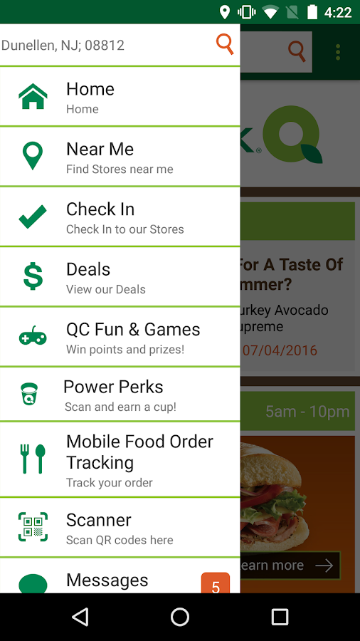 QuickChek Deals- screenshot