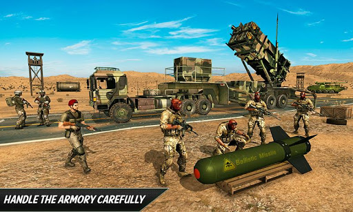US Army Missile Attack : Army Truck Driving Games 1.2.7 Paidproapk.com 1