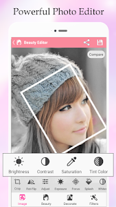 BestieCam Beauty Photo Editor screenshot 2