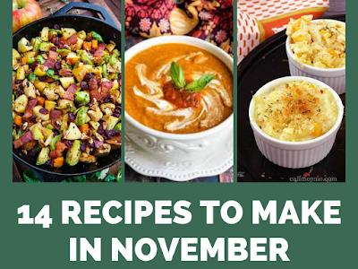 14 Recipes to Make in November