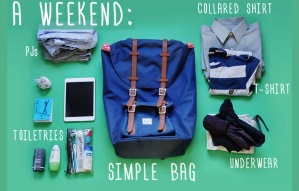 Plumfund - How to Pack for a Weekend Getaway - image01.jpg