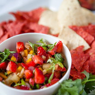 Strawberry and Kiwi Salsa