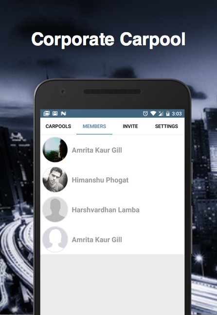 Poolmyride - Carpool Rideshare- screenshot
