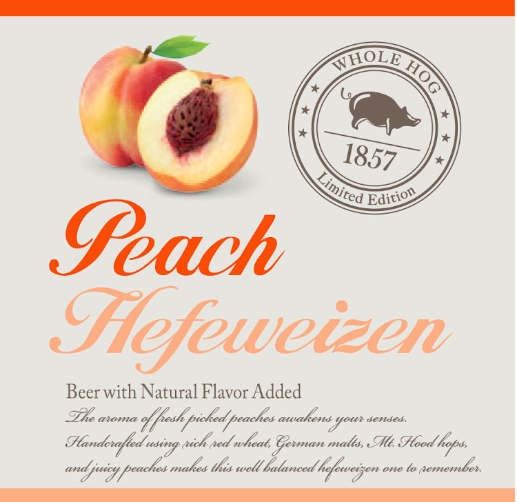 Logo of Whole Hog Peach Hefeweizen