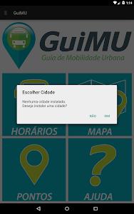 GuiMU - Guia Mobilidade Urbana screenshot 10