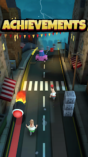 Overspin: Night Run – 3D double runner 4