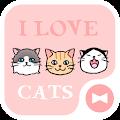 Wallpaper I Love Cats Theme download