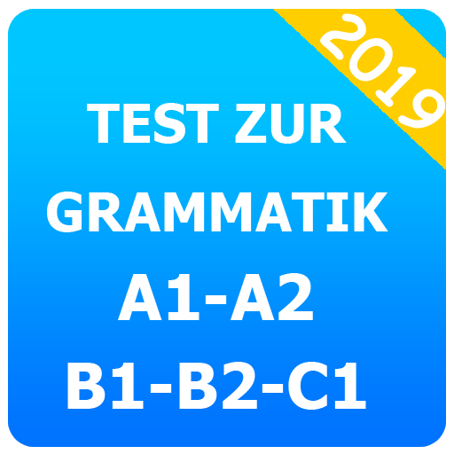 Test zur grammatik A1-A2-B1-B2-C1 Icon