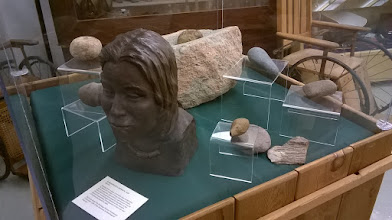 Photo: Calhoun County Museum Port Lavaca La Salle exhibit Karankawa Galveston