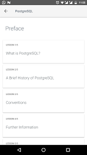 PostgreSQL Documentation- screenshot thumbnail