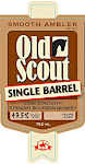 Smooth Ambler Old Scout 10 Year Old Single Barrel