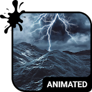 Stormy Sea Animated Keyboard + Live Wallpaper