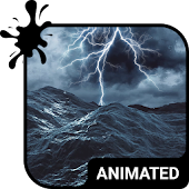 Stormy Sea Animated Keyboard