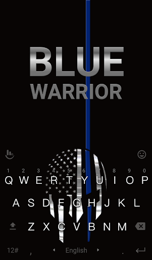 Blue Warriors Keyboard Theme