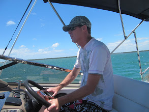 Photo: Year 2 Day 196 - Simon at the Helm