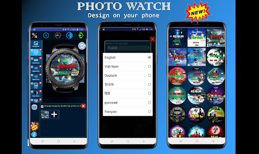 Screenshot for Photo Watch Gear - Many free watch faces in Hong Kong Play Store