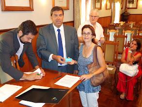 Photo: Sessão de apresentação do espaço Level UP - Dr. Fernando Horta – EMPET; Dr. João Pedro Rodrigues – EMPET; Isabel Baptista - MajorDomus
