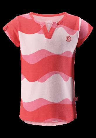 Reima Islan 536276-3344 Bright Red t-skjorte