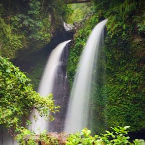 Kemumu Waterfall by Enggus Fatriyadi - Landscapes Waterscapes ( waterfall )
