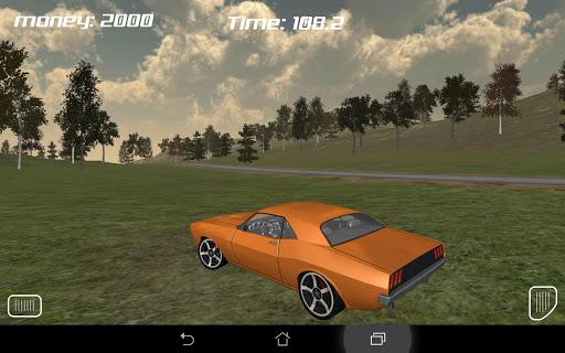 Muscle Car Run 3D