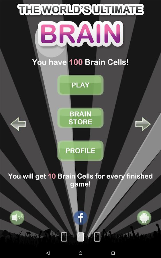 The World's Ultimate Brain- screenshot