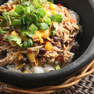 Crock Pot Black Beans Corn Chicken Recipes.