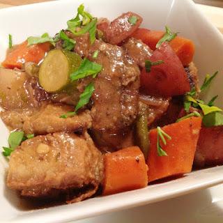 Seitan Pot Roast [Vegan]